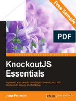 KnockoutJS Essentials - Sample Chapter