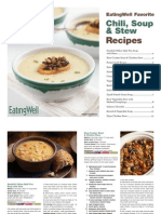 EatingWell Soups Stews Chilis Cookbook