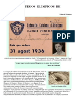 Olimpiada Barcelona 1936
