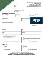 African Narratives Independent Publishing Application Form