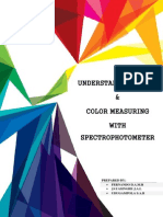 Understanding Color and Color Measuring With Spectrophotometer