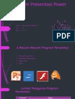 Contoh Program Presentasi