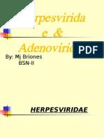 Herpesviridae&Adenoviridae-MjBriones