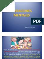 Operaciones Mentales  Modificabilidad cognitva