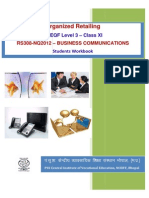 Psscive.nic.in PDF Nvqef Retail Level3 Swb RS308 - Business Communication Final