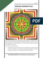Balatripurasundari Puja - Guruji Amritananda