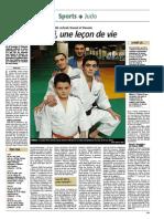 Page consacrée aux frères Fikri en 2010