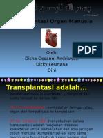 Transplantasi Organ Manusia - Kelompok 5