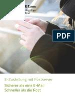 E-Zustellung mit Postserver