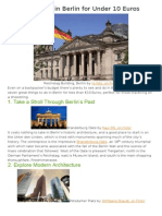 Berlin -7 Things to Do in b