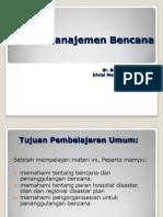Materi 4B_Manajemen Bencana 160312