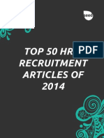 Top 50 HR & Recruitment Articles of the Year