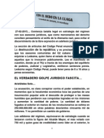 Golpe Jurídico Fascista