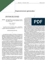 Ley 55 2003 Estatuto Marco