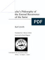 Karl Lowith Nietzsche s Philosophy of Eternal Recurrence of the Same