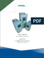 Vacon NXP Line Sync APFIF131 Application Manual UD