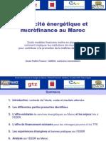 Efficacite Energetique Et Energie Au Maroc 221008