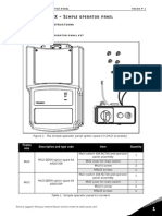 Vacon 20 X Simple Panel Inst Manual DPD01577A UK