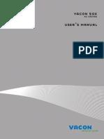 Vacon 50X User Manual DPD00080 En