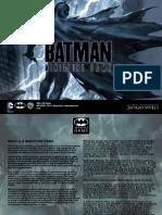 Batman Miniatures Game Rulebook