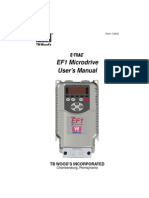 Vacon Ef1 User s Manual Dpd00285 Uk