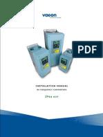 Vacon NX IP54 Kit Installation Manual UD00778C En