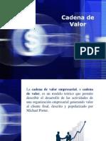 Analisis de La Cadena de Valor