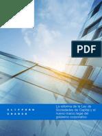 La Reforma de La Ley de de Sociedades de Capital 6025227