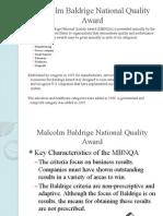 Baldrige and ISO 9000