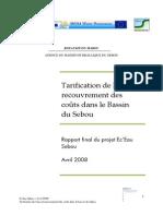 Rapport_Tarification Et Recouvrement Des Coûts