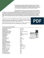 Specificatii Tehnice Baie de VascozitateLabortech