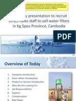 5. Company Recruiting Presentation Proofread