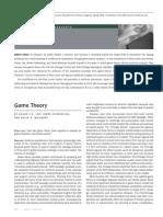 PUB Game Theory AT1009