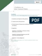080110 Directors' General Duties