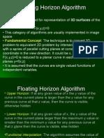 Floating Horizon Algorithm