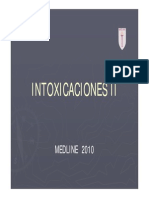 intoxicaciones
