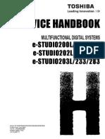 Service Handbook Toshiba E-Studio 230
