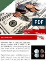 Depreciation in Rupee Valuee