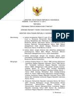 Permen P.23 Tahun 2011 Tentang KBR 2011