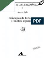 Principios de Fonetica y Fonologia Espanolas Quilis2