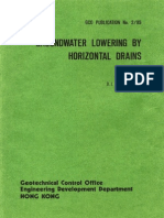 Libro Groundwater Lowering by Horizontal Drains