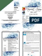 Buku Program Mesyuarat Agung PIBG 2015