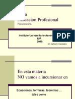 Ética IUA Módulo 1 Presentación 2010