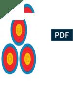 Target 27 - X6 - Practise Targets (A3) - 20m-40m