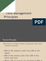 Time Management Principles