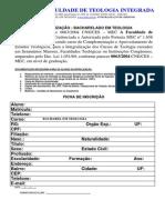 Ficha de Integralização de Curso Livre de Teologia (1) (1)