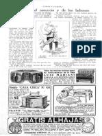 Caras y Caretas (Buenos Aires) 1-8-1925 - Pág 48 (Dios Comercio y Ladrones)