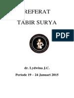 Referat Tabir Surya