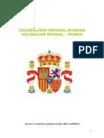 Vocabular limba spaniola