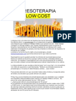 Presoterapia low cost